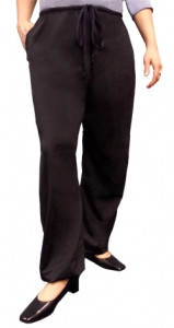 ProtectaHip Active Lounge Pants Black w Lady